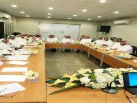 اللقاء الأول لقادة المدارس الأهلية بمكتب التعليم الأهلي بمكة المكرمة
